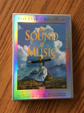Photo The Sound of Music 2 Dvd Five Star Collection - $10 (Bettendorf)