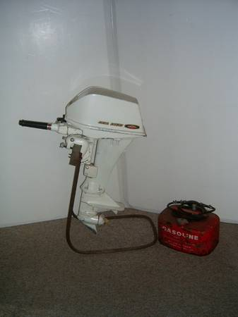 Photo VINTAGE MONTGOMERY WARDS 6 HP SEA KING OUTBOARD MOTOR. - $300 (IOWA  ILL QUAD CITIES)
