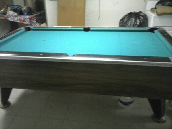 Vintage Irving Kaye Co Bar Size Pool Table With Money Slots 300 Rock Island Buy Sell Quad Cities Il Shoppok