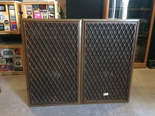 Photo Vintage Sansui SP-X6700 Home Speakers - $120