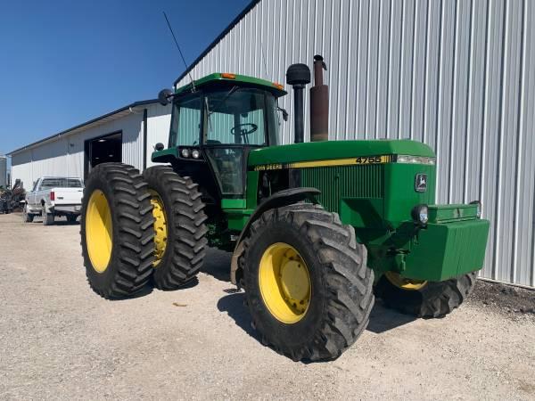 Photo Yarger Machinery Sales John Deere 4755 12545 - $47,900 (Kewanee)