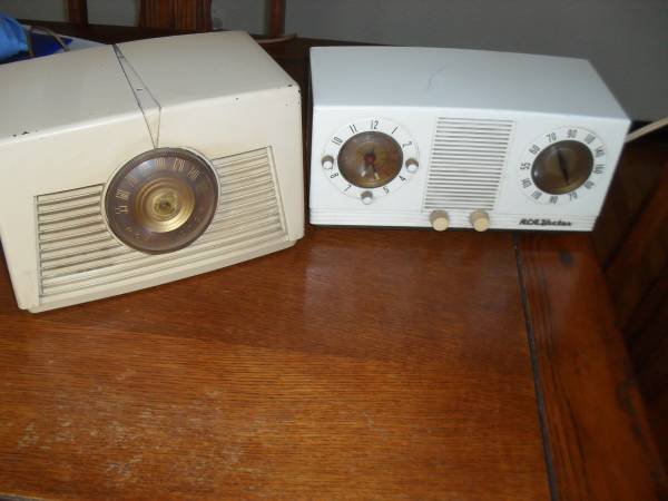 Photo AM Radios - RCA Victor - Two - $40 (South St. Louis City)