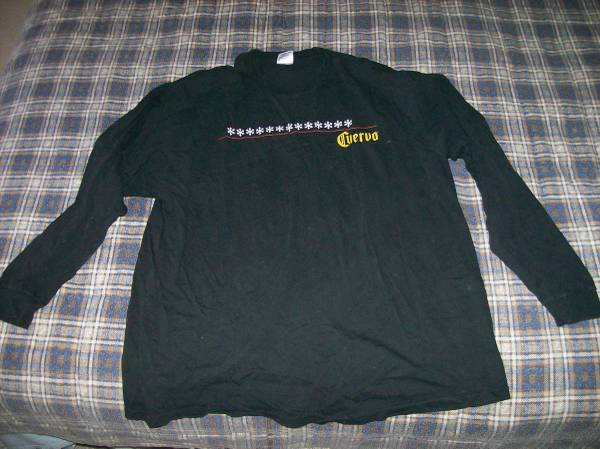 Photo CUERVO Long-Sleeved T-Shirt - Size is XL - $10 (St. Louis County)
