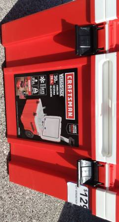 Photo Craftsman all-purpose cooler on wheels - $75 (Quincy)