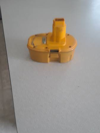 Photo Dewalt 18 Volt XRP Battery - $30 (House Springs or Chesterfield)