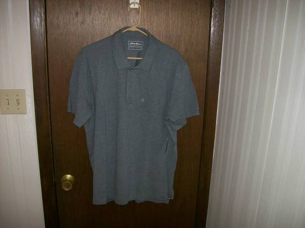 Photo EDDIE BAUER POLO-STYLE SHIRT---Size XL---NEW--LIFETIME GUARANTEE - $15 (St. Louis County)