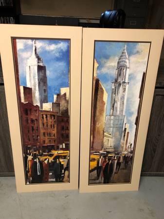 Photo Empire State Building  Chrysler Building by Didier Lourenco - $30 (Saint PetersOFallon)