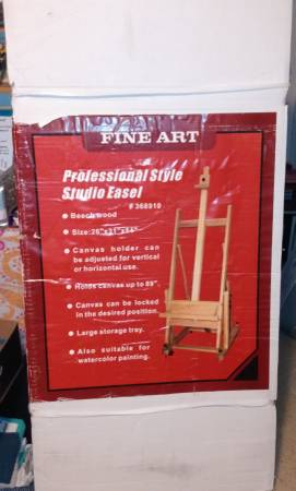 Photo H-Frame Wooden Artist Easel STILL IN BOX - $150 (columbia)