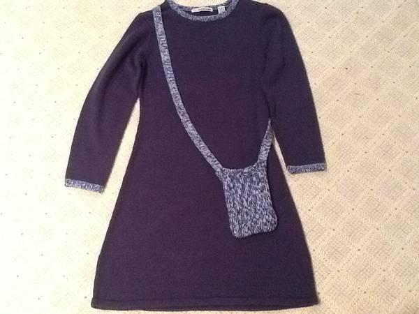 Photo Knit dress, like new, size 12-14 girls - $5 (Kirkwood)