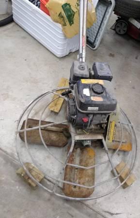 Photo Multiquip Whiteman 36quot Power Trowel - $1,200 (Hartsburg)