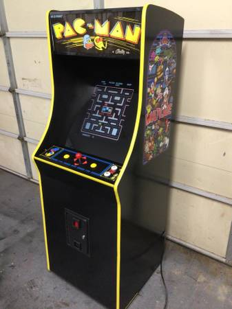Photo Pac-man themed full size multicade arcade game - $995 (Saint Peters)