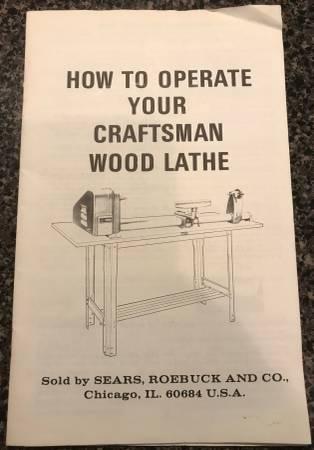 Photo Sears Craftsman 12quot Wood Lathe. - $300 (St. Charles, MO)