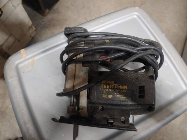 Photo Sears Craftsman Auto scroller saw 13 HP Variable speed. 9-14710 - $20 (California)