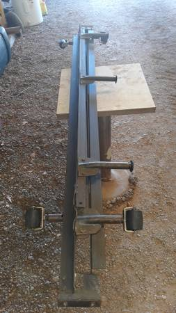 Photo Steel Bed Frame Queen or double size - $25 (Hillsboro)