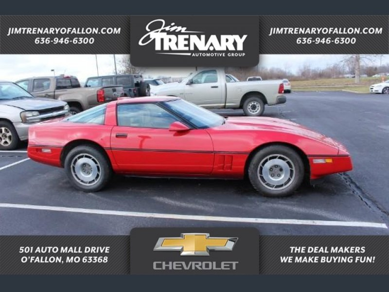 Photo Used 1987 Chevrolet Corvette Coupe for sale