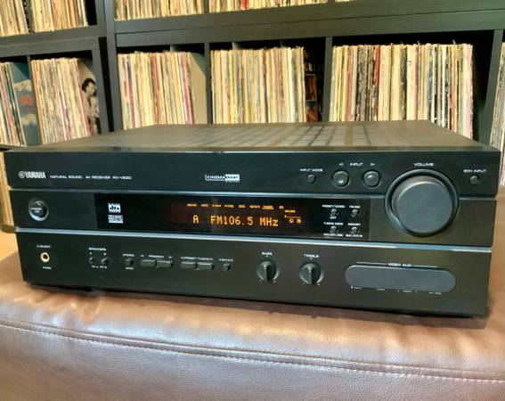 Photo YAMAHA RX-V630 Natural Sound AV Receiver - $45 (Saint Louis)