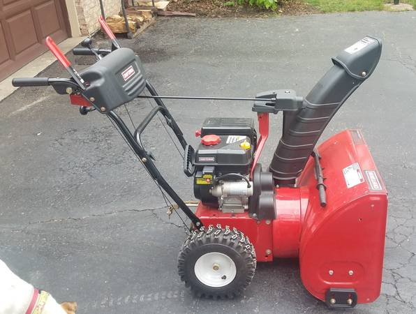 Photo 24quot Craftsman Snow Thrower - $375 (Long Grove)