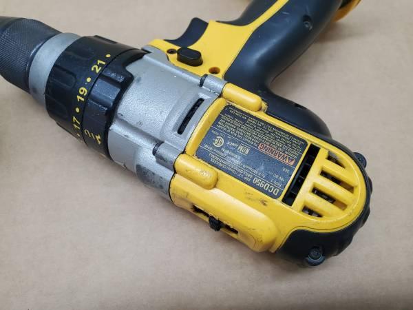 Photo (2) DeWalt 18V Tools - $200 (Trevor)