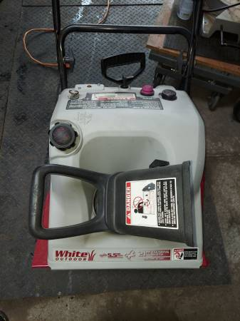 Photo 2 single stage snow blowers with electric start - $125 (Kenosha)
