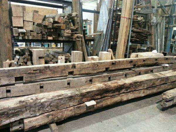BARN WOOD, Reclaimed Lumber, Beams, Slabs, Rail-Car ...