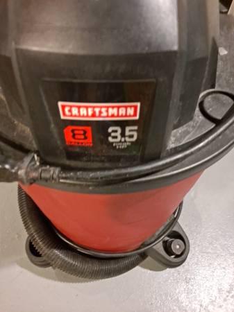 Photo Craftsman 8 gallon Shop Vac - $25 (Racine)