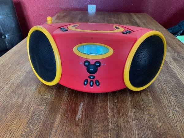 Photo Disney by Memorex DB3000-C CD Boombox - $35 (Burlington)