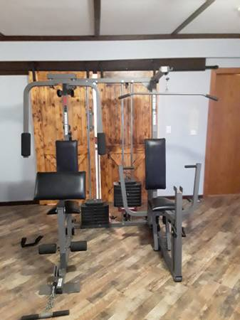 Photo Home gym weider pro weight bench - $300 (Silver lake)
