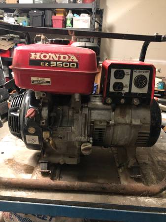 Photo Honda EZ 3500 watt generator - $200