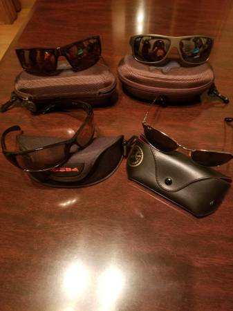 Photo Maui Jim - Ray Ban - bolle sunglasses - $175 (Sturtevant)