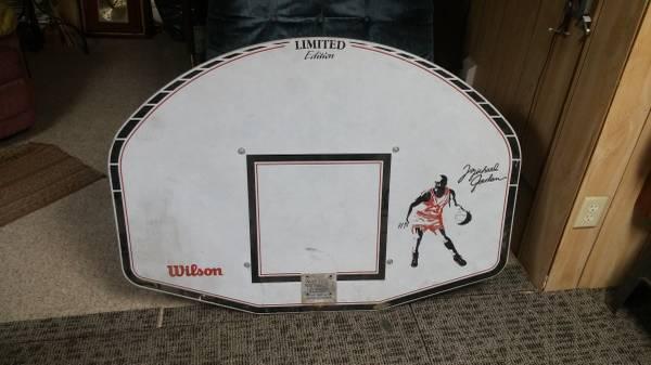 Photo Michael Jordan Basketball backboard - $50 (Kenosha)