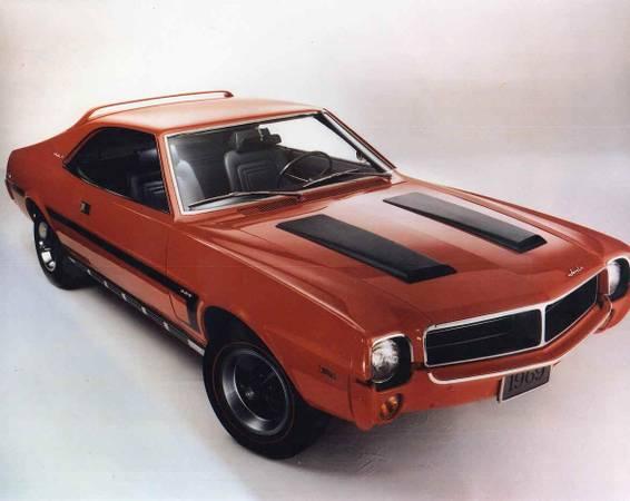 Photo New AMC Big Bad Front Bumper Trim Piece Molding 1969 Javelin and AMX - $700 (Richfield)