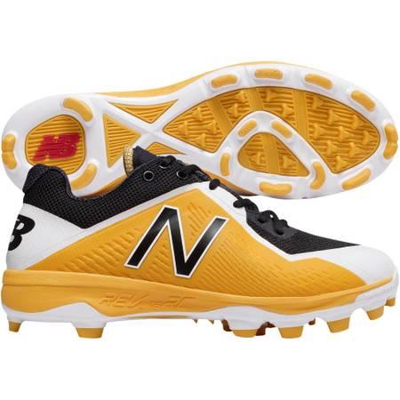 Photo New Balance Low-Cut 4040v4 TPU Baseball Cleat Gold Black Mens Size 13 New in Box - $25 (BrookfieldElm Grove)