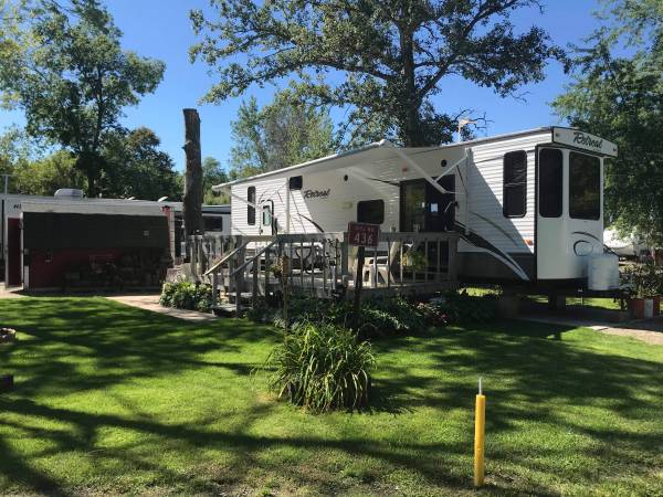 Photo River Bend RV Resort - Lot  Trailer Package For Sale - $55,500 (Watertown, WI)