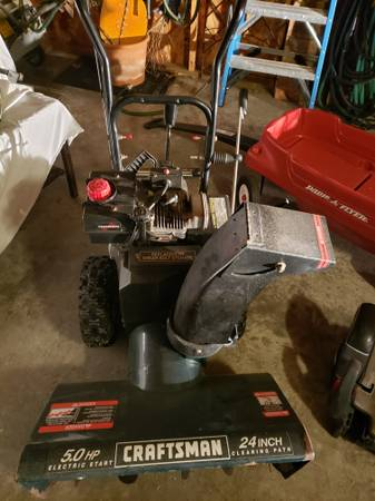 Photo Snow blowers x 2 Both run great - $12,345 (Kenosha)