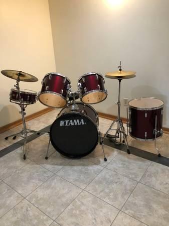Photo TAMA Swingstar Drum Set - $300 (Yorkville)