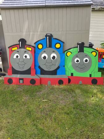 Photo Thomas the Tank Engine and Train Friends Wood Photo Boards for Party - $100 (Burlington)