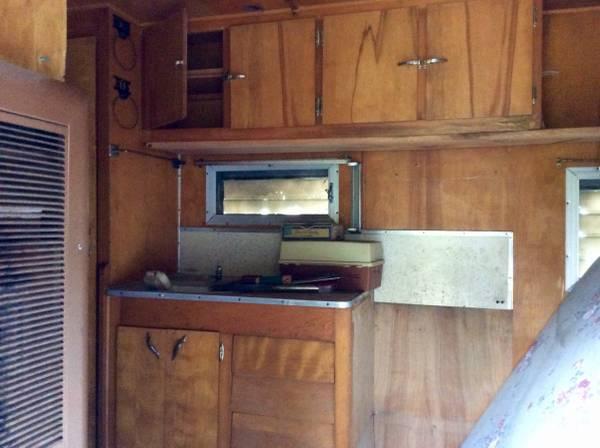 vintage pathfinder canned ham camper 1964 1400 lake geneva rv rvs for sale racine wi shoppok vintage pathfinder canned ham camper