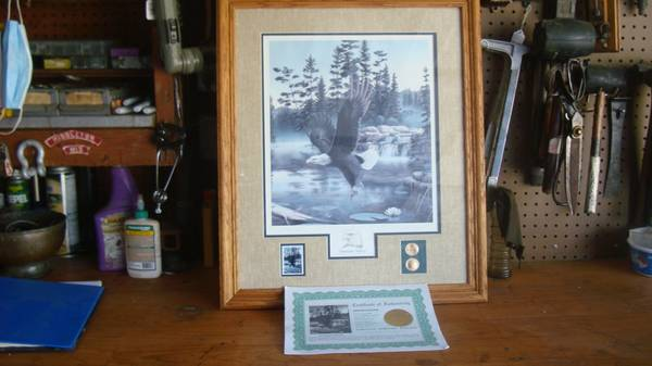 Photo leo stans framedmatted print $55 (westside madison mineral pt rd)