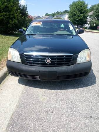 Photo 02 Cadillac DHS for parts or repair (bad transmission) - $1,700 (Raleigh  ten ten rd.)