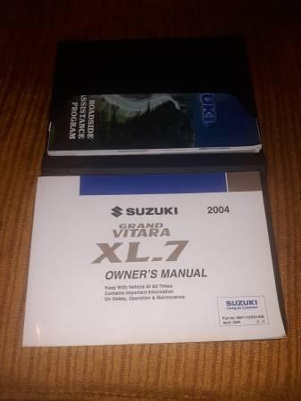 Photo 04 Suzuki Vitara Owners Manual - $5 (Willow Spring)