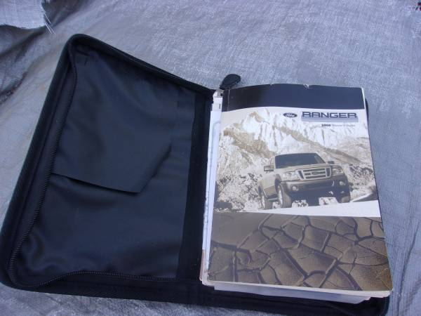 Photo 08 Ford Ranger Owners Manual - $5 (Willow Spring)