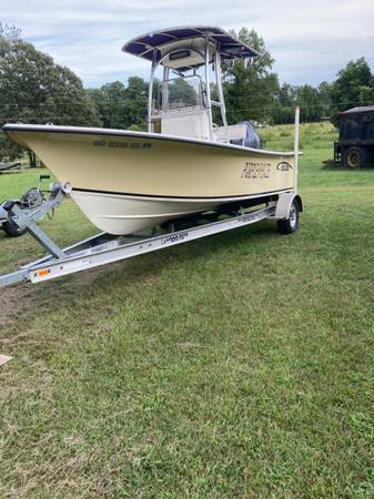 Photo 18 ft center console boat with trailer - $20,000 (Selma N.C.)