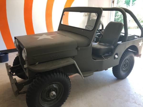 Photo 1961 Willys Jeep Runs Great - $9000 (Efland)