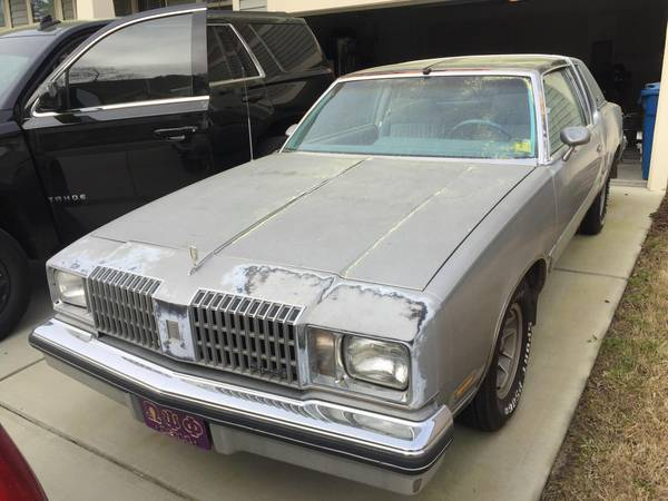 Photo 1978 Oldsmobile Cutlass T-top in tact - $3500 (Durham NC)