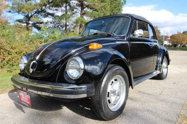 Photo 1979 VW BEETLE CLASSIC CONVERTIBLE - $10,800 (S.RALEIGHGARNER)