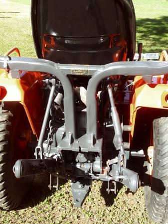 Photo 1987 B7200 Kubota Compact Tractor Mower  Tiller Blade Rake - $6,175 (Mebane)