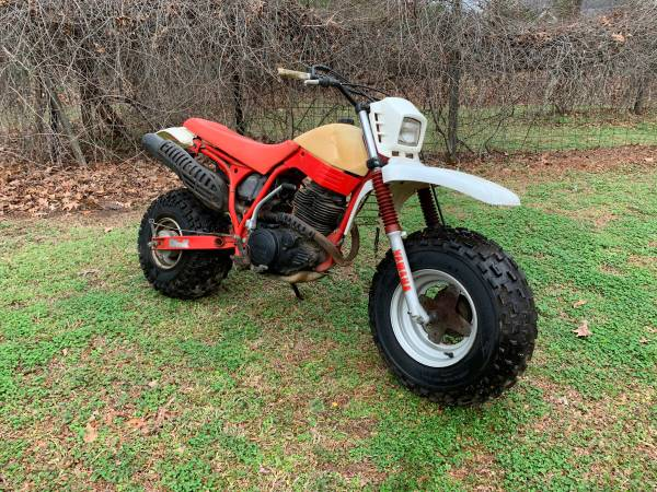 Photo 1987 Honda BW200 and BW350 Big Wheel Fat Tire - $2000 (Fuquay)