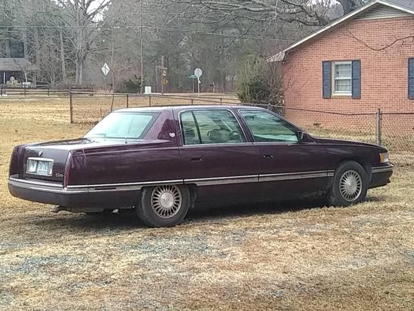 Photo 1994 Cadillac Deville - $2000 (pittsboro)