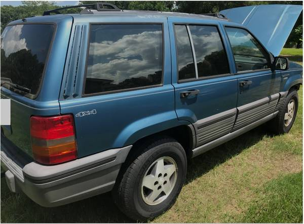 Photo 1994 Jeep Grand Cherokee Laredo Sport Utility 4D - $720 (Zebulon)