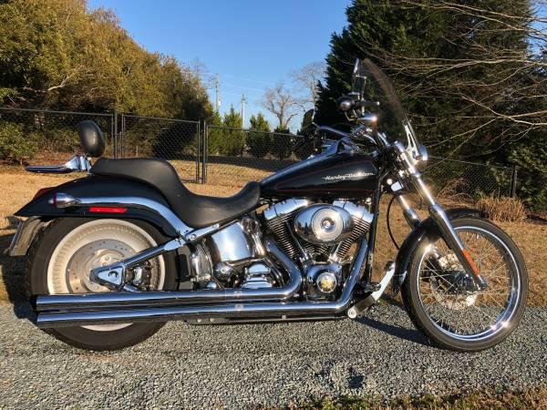 Photo 2001 Harley Davidson Softail Deuce FXSTDI - $7,900 (Clayton)